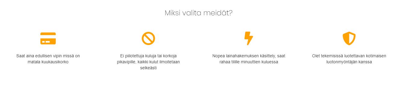 Vippi.org tarjoaa edullisesti ja helposti lainaa